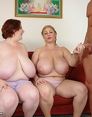When one BBW can't tear someone from a lonely life on Facebook, it takes two to seal the deal. Samantha and Sapphire most definitely know how to